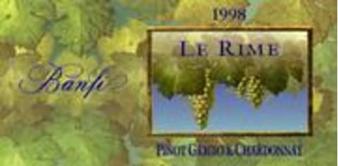 Banfi Le Rime (Proprietary white) 1997 Front Label