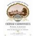 Chateau Carbonnieux Blanc 2009 Front Label