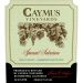 Caymus Special Selection Cabernet Sauvignon (stained label) 2011 Front Label