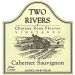 Two Rivers Winery and Chateau Mesa County Deux Fleuves Vineyards Cabernet Sauvignon 2011 Front Label