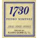 Alvaro Domecq Pedro Ximenez 1730 (375ML half-bottle) Front Label