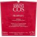 Cos Frappato 2012 Front Label