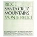 Ridge Monte Bello 2001 Front Label