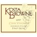 Kosta Browne Cerise Vineyard Pinot Noir 2017  Front Label