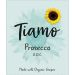 Tiamo Prosecco Made with Organic Grapes  Front Label