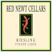 Red Newt Cellars Semi-Dry Riesling 2016  Front Label