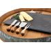 wine.com Rustic Farmhouse Gourmet Cheese Knives  Gift Product Image