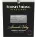 Rodney Strong Alexander Valley Estate Cabernet Sauvignon 2016  Front Label