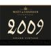 Moet & Chandon Grand Vintage Extra Brut with Gift Box 2009 Front Label