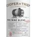 Cooper & Thief Bourbon Barrel Aged Red 2016  Front Label