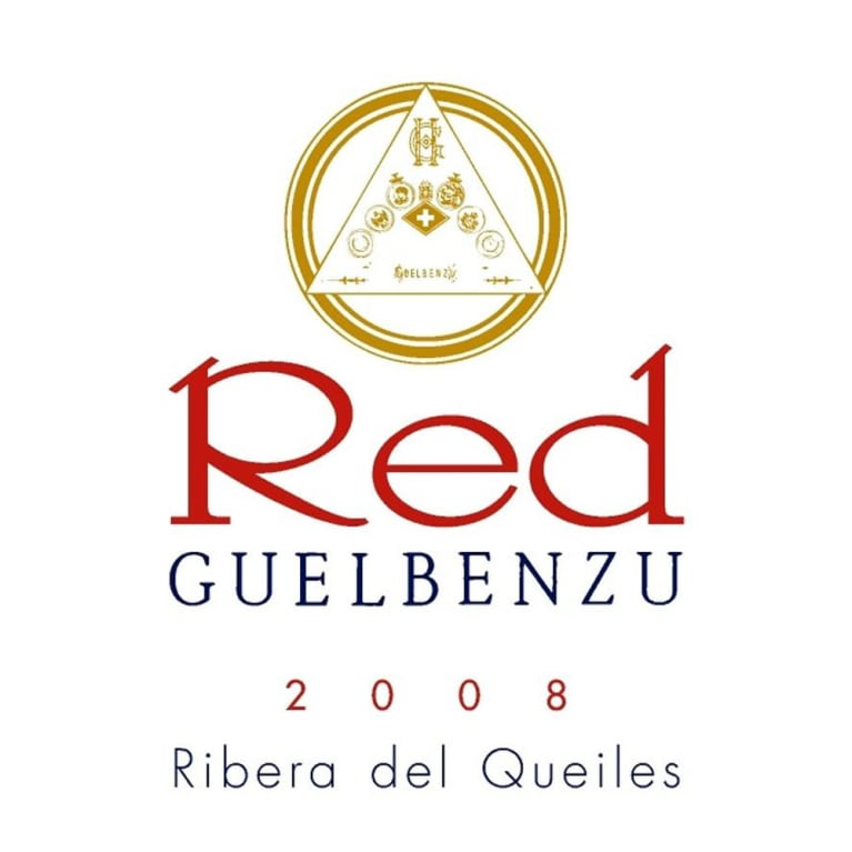 Guelbenzu Red 2008 Front Label