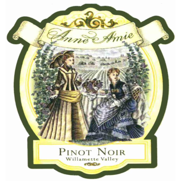 Anne Amie Winemaker's Selection Pinot Noir 2006 Front Label