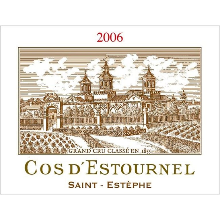 Chateau Cos d'Estournel  2006 Front Label