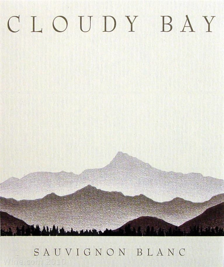 Cloudy Bay Sauvignon Blanc 2009 Front Label