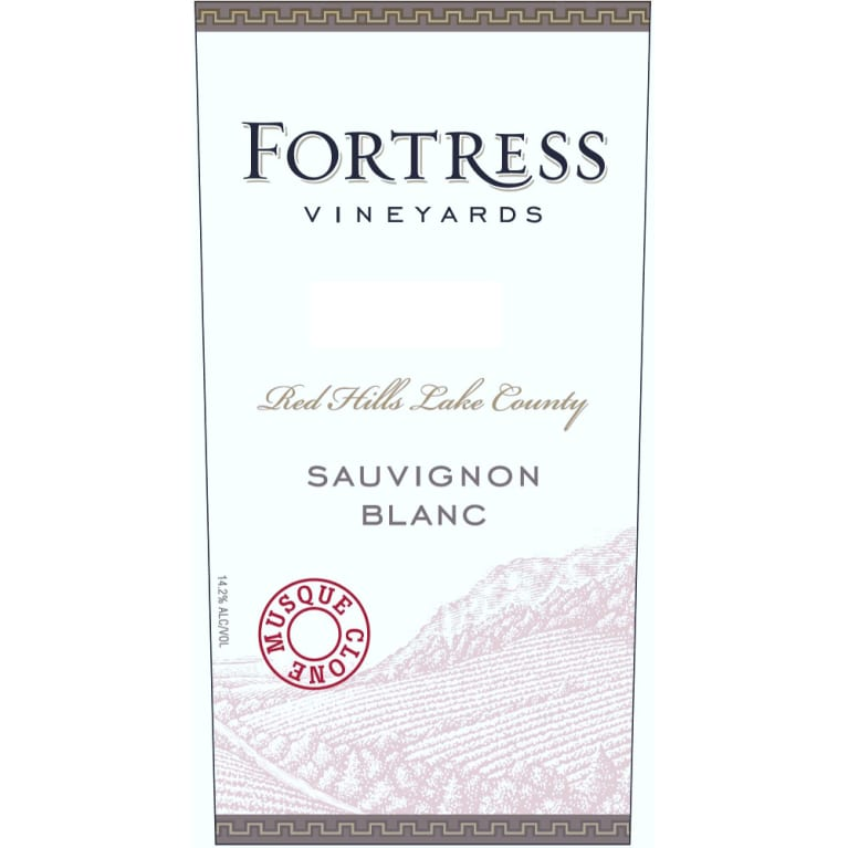 Fortress Vineyards Sauvignon Blanc 2008 Front Label