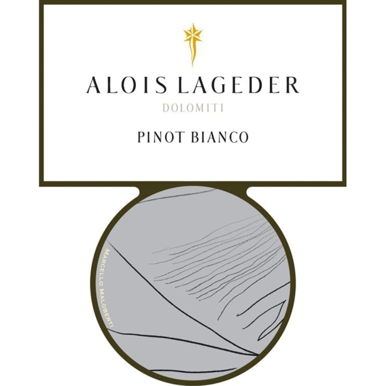 Alois Lageder Pinot Bianco 2008 Front Label