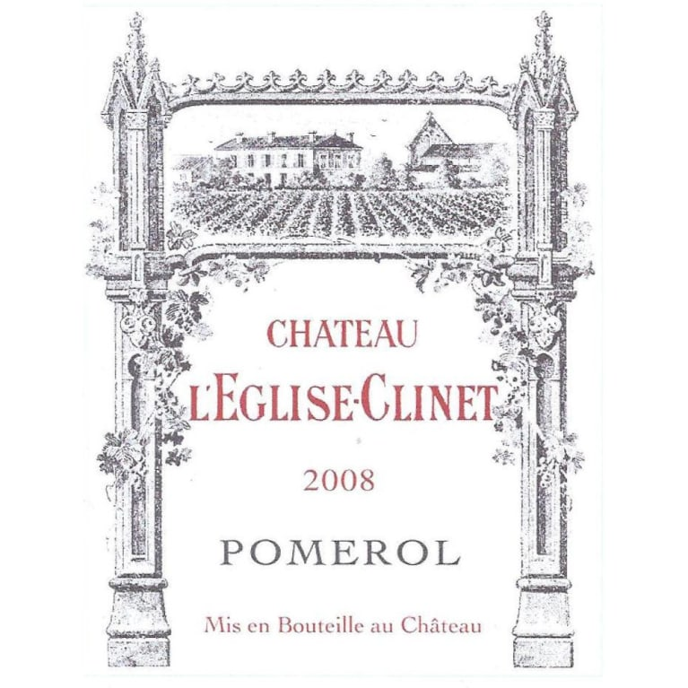 Chateau L'Eglise Clinet  2008 Front Label