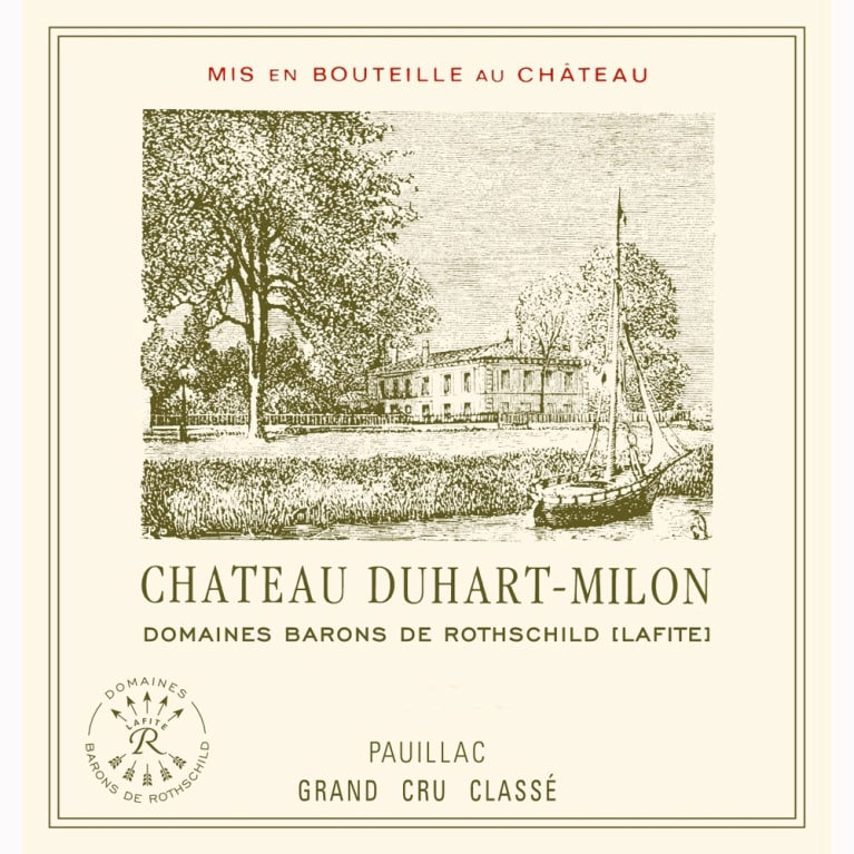 Chateau Duhart-Milon  1996 Front Label
