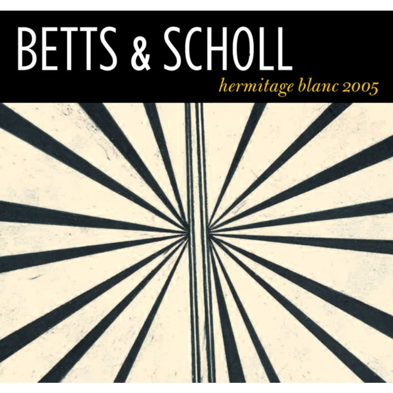 Betts & Scholl Hermitage Blanc 2005 Front Label
