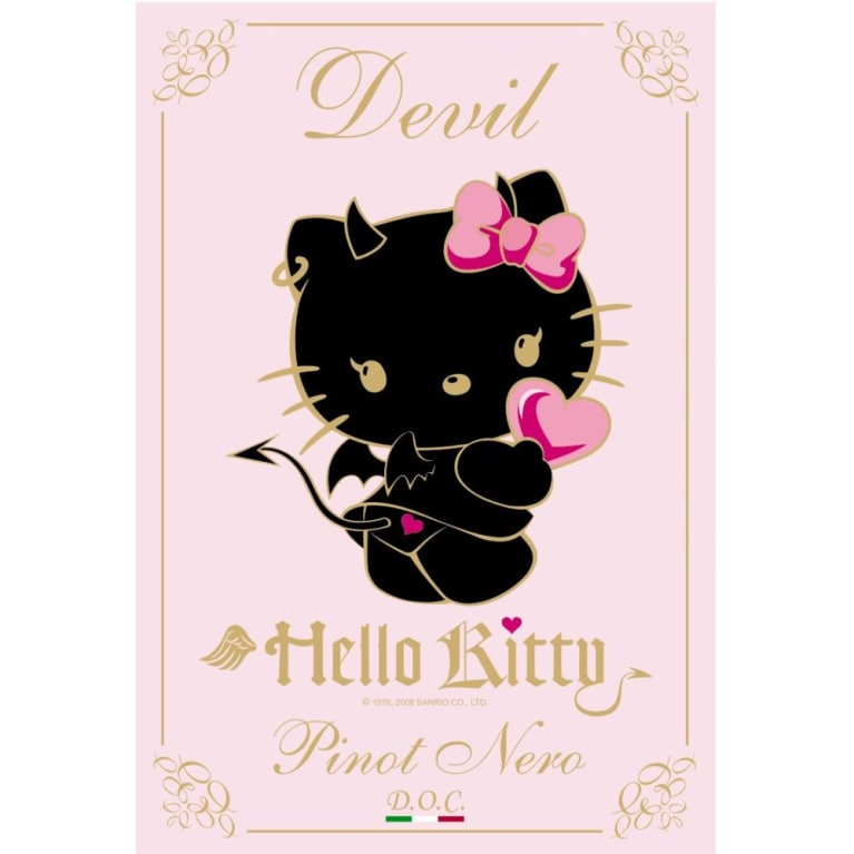 Hello Kitty Devil 2006 Front Label
