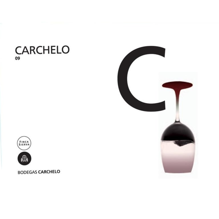 Bodegas Carchelo C 2009 Front Label