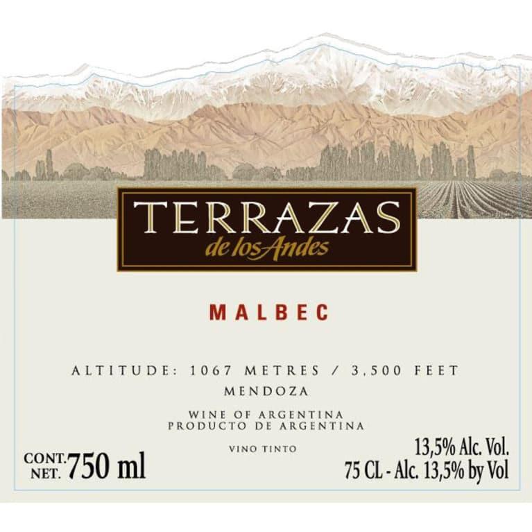 Terrazas De Los Andes Malbec 2009