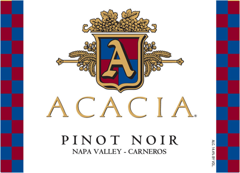 Acacia Carneros Pinot Noir 2008 Front Label