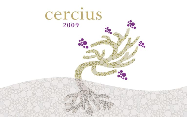 Michel Gassier Cercius Rouge 2009 Front Label
