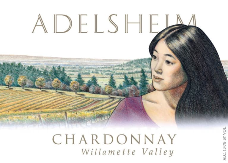 Adelsheim Chardonnay 2009 Front Label