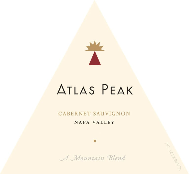 Atlas Peak Napa Valley Cabernet Sauvignon 2006 Front Label