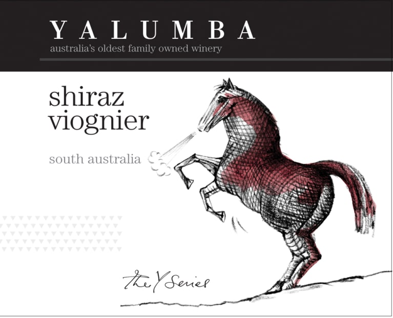 Yalumba Y Series Shiraz and Viognier 2009 Front Label