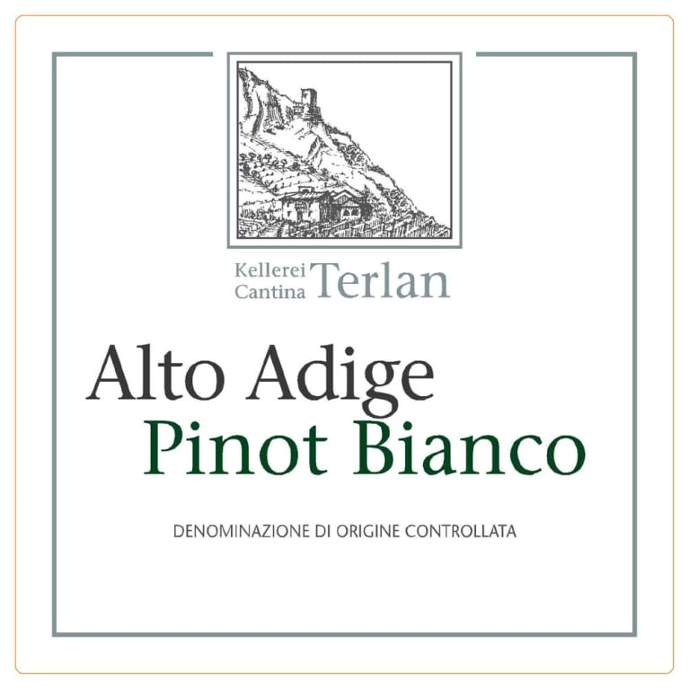 Terlano Pinot Bianco 2009 Front Label