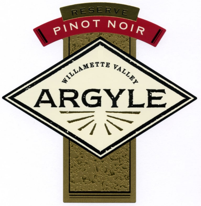 Argyle Reserve Pinot Noir (375ML half-bottle) 2008 Front Label