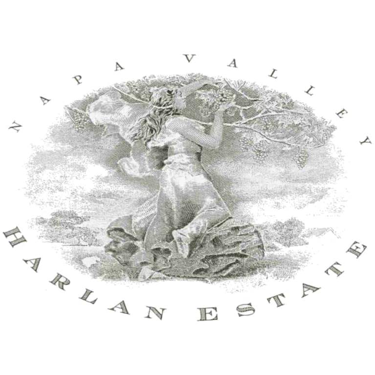 Harlan Estate 2000 Front Label
