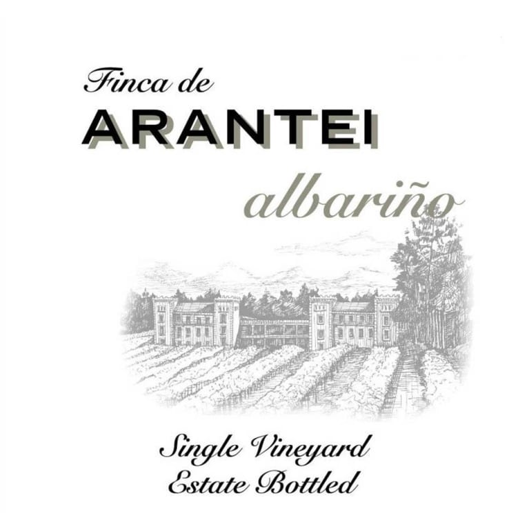 Finca de Arantei Albarino Single Vineyard 2010 Front Label