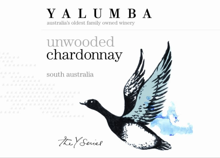 Yalumba Y Series Unwooded Chardonnay 2010 Front Label