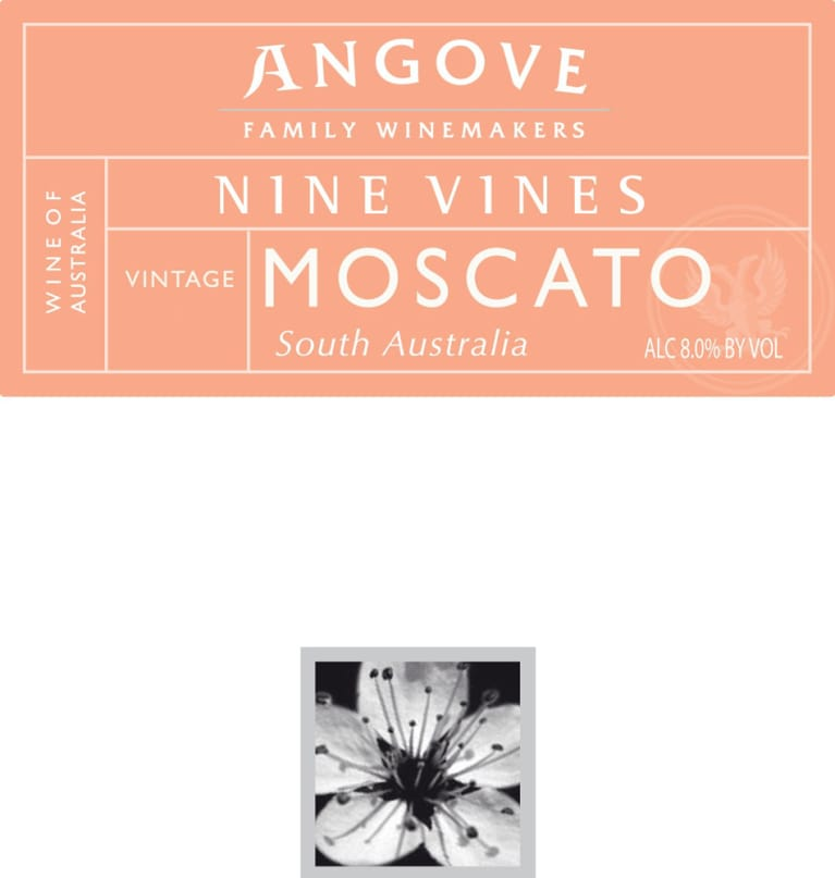 Angove Family Winemakers Nine Vines Moscato 2011 Front Label
