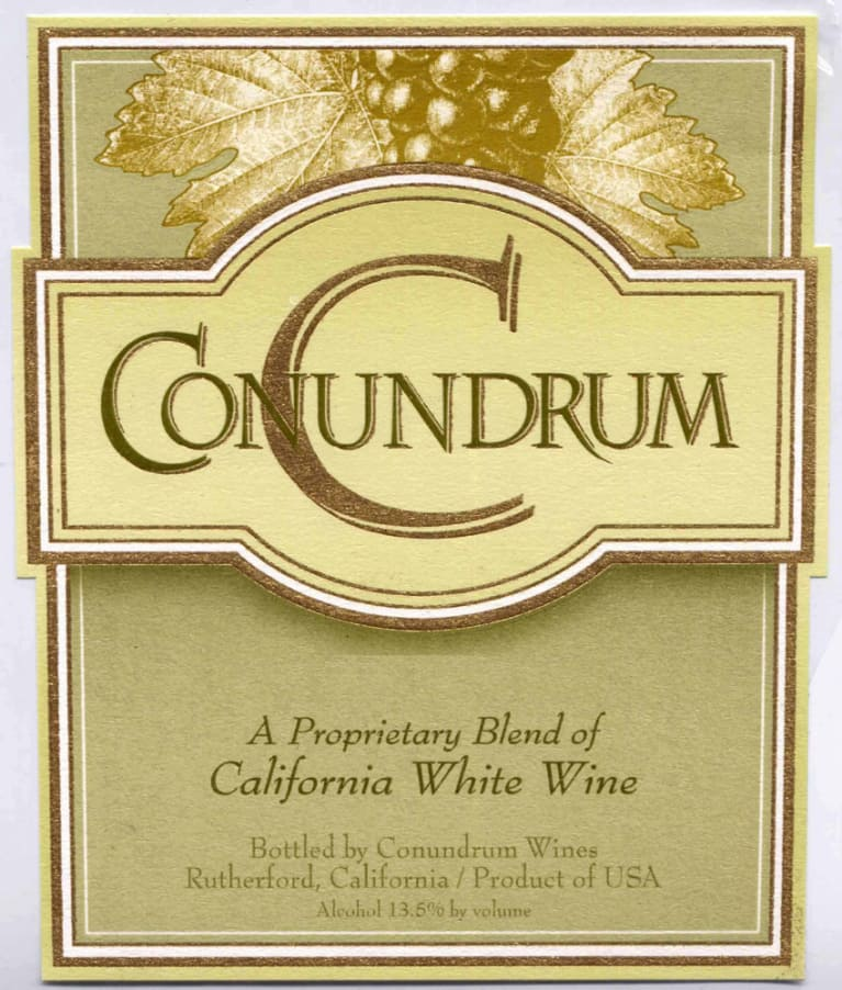 Conundrum White Blend 2010 Front Label