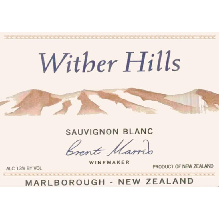 Wither Hills Sauvignon Blanc 2010 Front Label
