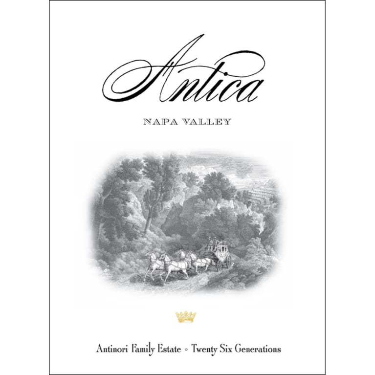 Antica Cabernet Sauvignon (stained labels) 2006 Front Label