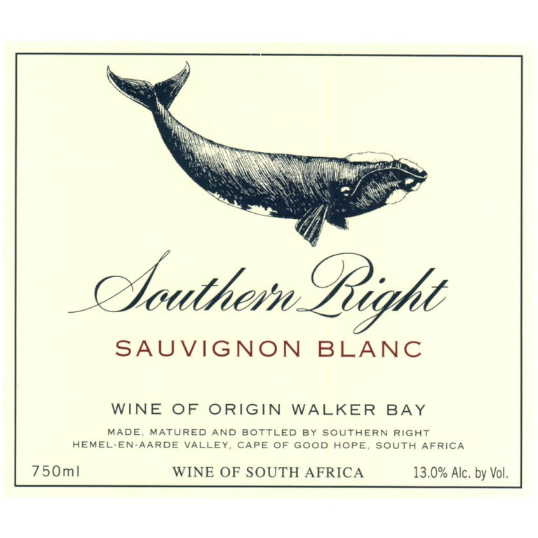 Southern Right Sauvignon Blanc 2011 Front Label