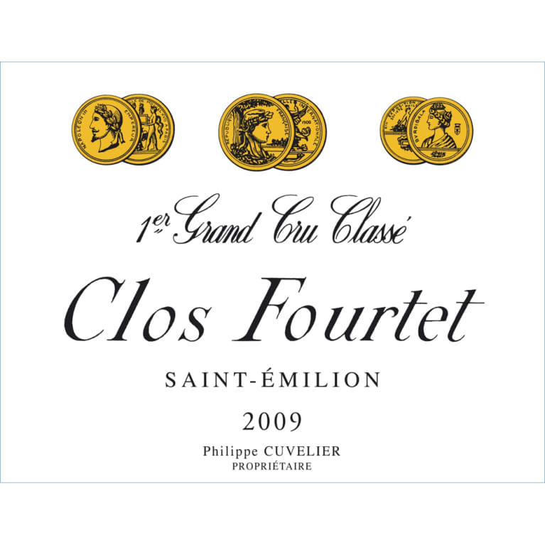 Clos Fourtet  2009 Front Label