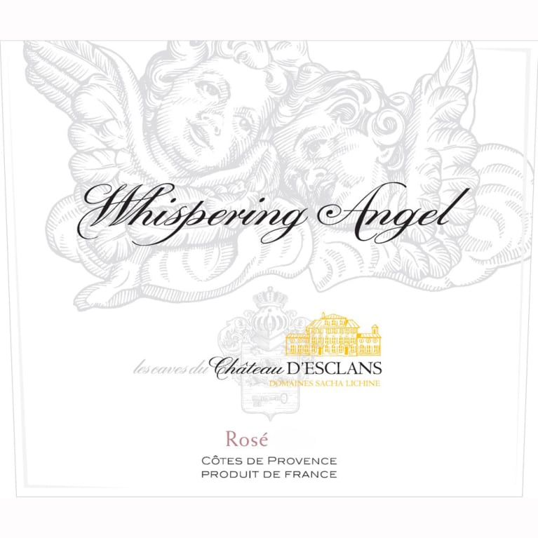 Chateau d'Esclans Whispering Angel Rose 2011 Front Label