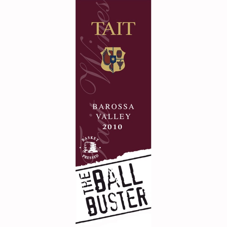 Tait The Ball Buster 2010 Front Label