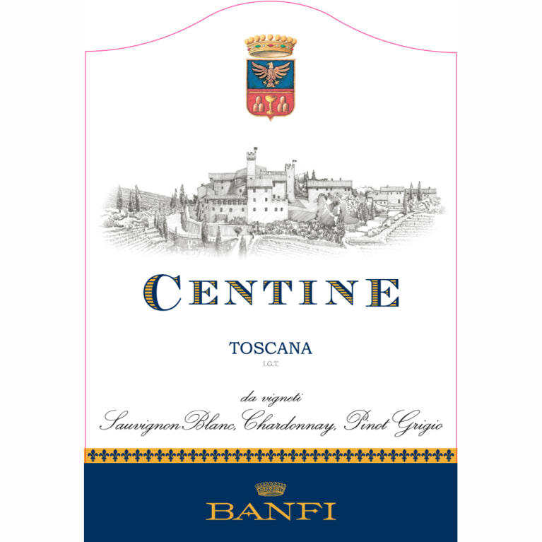 Banfi Centine Toscana 2010 Front Label
