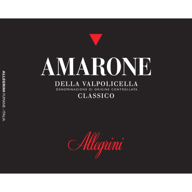 Allegrini Amarone 2008 Front Label