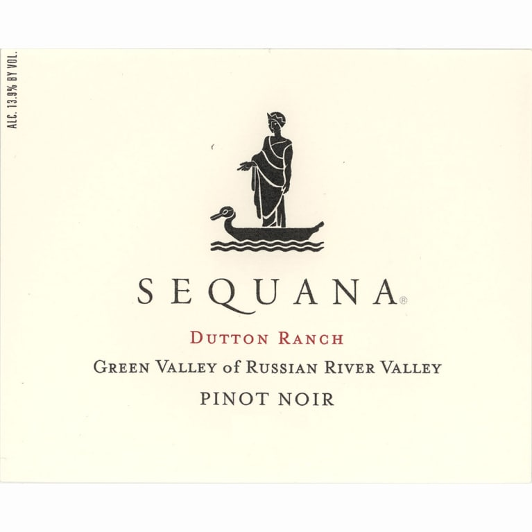 Sequana Dutton Ranch Green Valley Pinot Noir 2010 Front Label