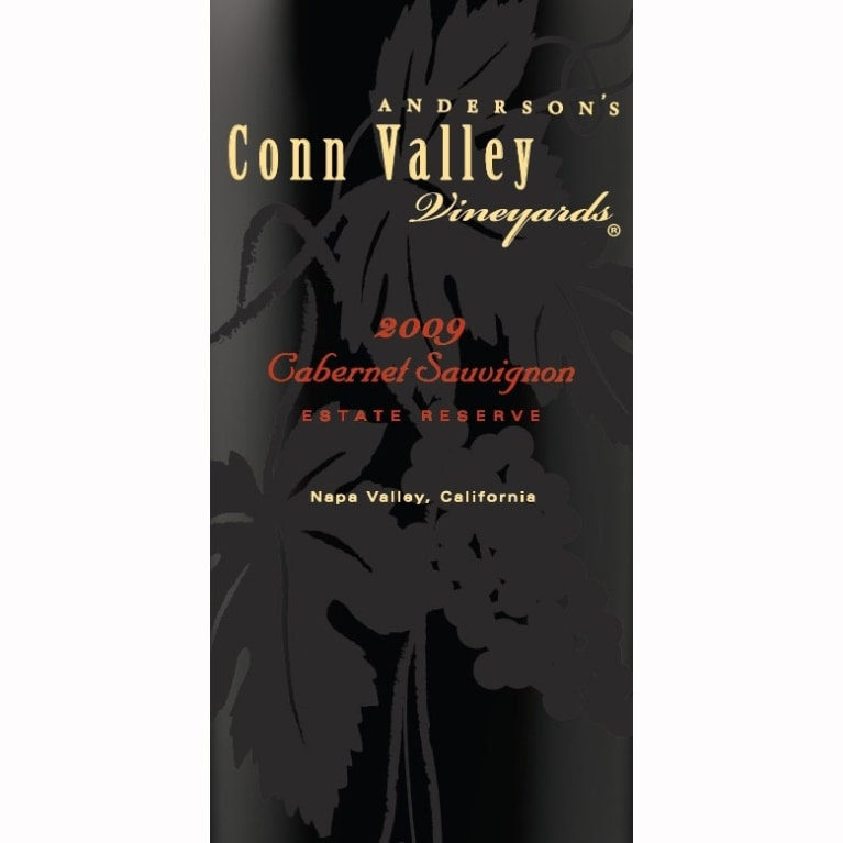 Anderson's Conn Valley Vineyards Cabernet Sauvignon Reserve (1.5 Liter Magnum) 2009 Front Label