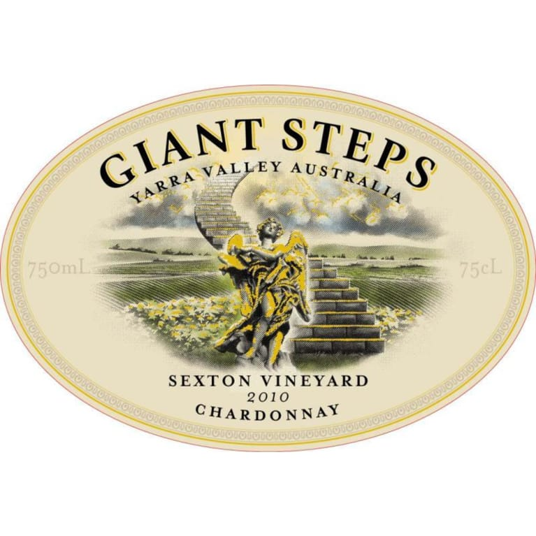 Giant Steps Sexton Vineyard Chardonnay 2010 Front Label