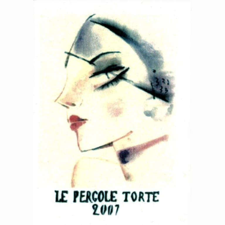 Montevertine Le Pergole Torte 2007 Front Label